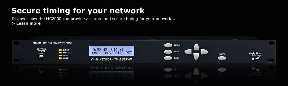 Discover how the MC2000 NTP server can bring accurate and secure timing to your network...
