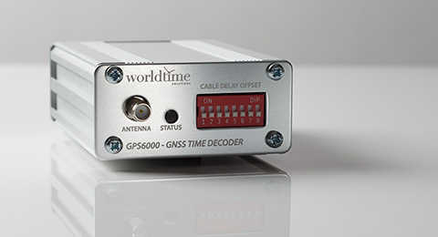 GPS6000 GNSS Time Decoder